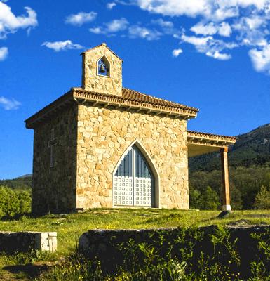 Ermita de San Isidro en la localidad de Casillas (Ávila)