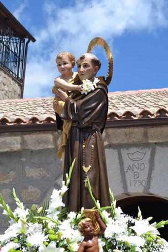 San Antonio de Padua patrono de la localidad de Casillas (Ávila)